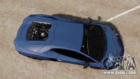 Lamborghini Aventador LP720-4 50th Anniversario for GTA 4 right view