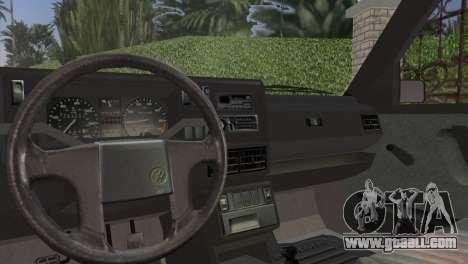 Volkswagen Golf II 1991 for GTA Vice City back view