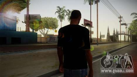 Melbourne Shuffle T-Shirt for GTA San Andreas second screenshot