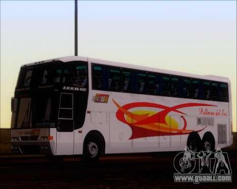 Busscar Jum Buss 400 Volvo B10R Pullman Del Sur for GTA San Andreas back view