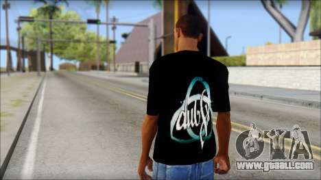 Dub Fx Fan T-Shirt v2 for GTA San Andreas second screenshot