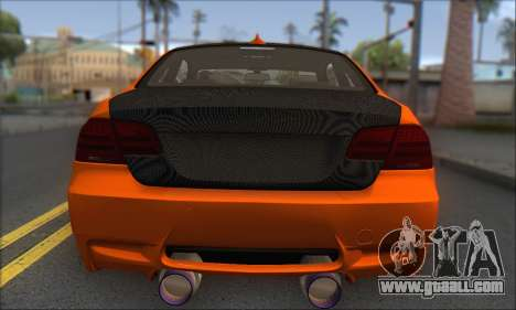 BMW M3 E92 Soft Tuning for GTA San Andreas right view