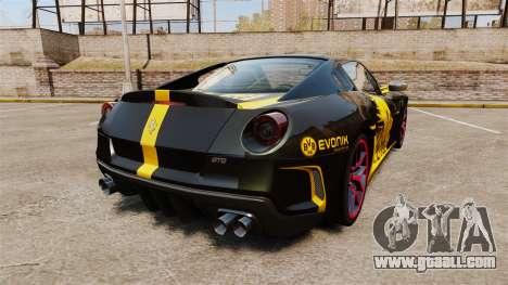 Ferrari 599 GTO PJ3 for GTA 4 back left view