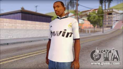 Real Madrid FC Jersey Mod for GTA San Andreas