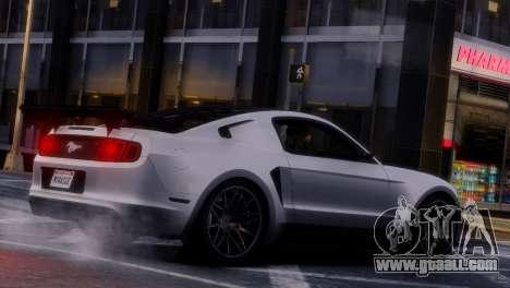 Ford Mustang GT 2014 Custom Kit for GTA 4 bottom view