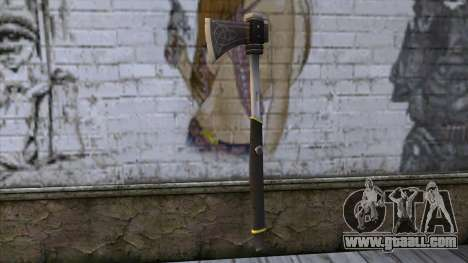 The Woodman Axe for GTA San Andreas