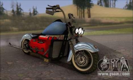 Boss Hoss v8 8200cc for GTA San Andreas