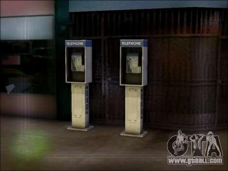 Street phone for GTA San Andreas