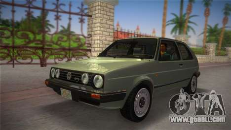 Volkswagen Golf II 1991 for GTA Vice City right view