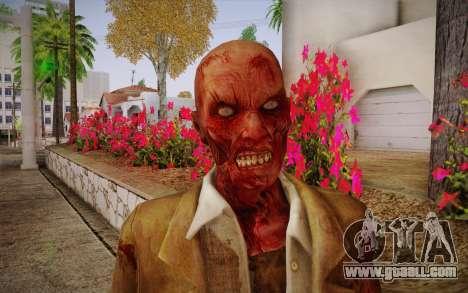 Crimson Zombie Skin for GTA San Andreas third screenshot