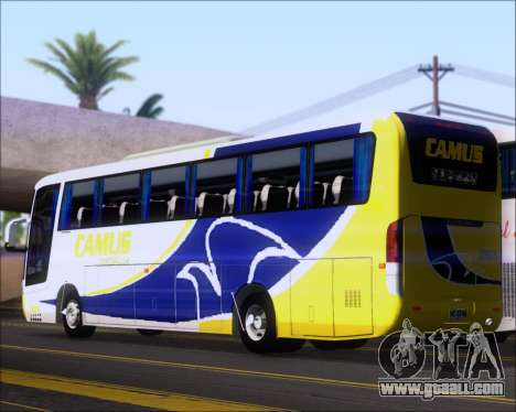 Busscar Vissta Buss LO Mercedes Benz 0-500RS for GTA San Andreas right view