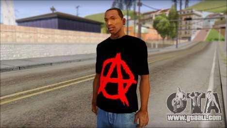 Anarhcy T-Shirt v1 for GTA San Andreas