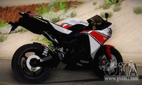 Yamaha R1 2011 for GTA San Andreas left view