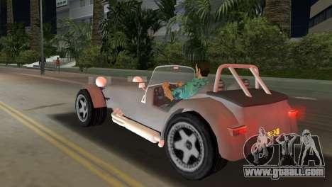 Caterham Super Seven for GTA Vice City left view
