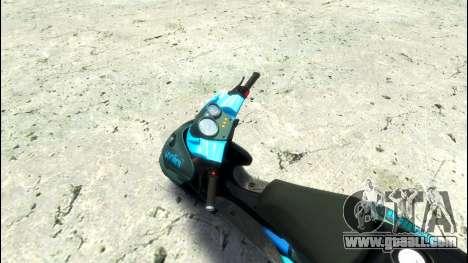 Yamaha Aero X Polini for GTA 4 right view