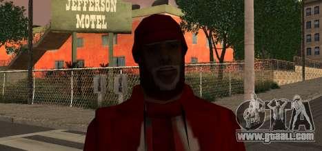 Santa Claus for GTA San Andreas third screenshot