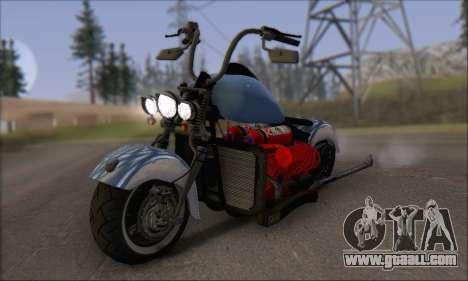 Boss Hoss v8 8200cc for GTA San Andreas left view