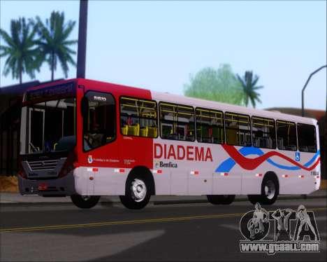 Comil Svelto 2008 Volksbus 17-2 Benfica Diadema for GTA San Andreas interior
