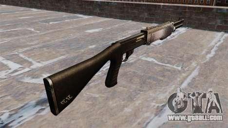 Ружьё Franchi SPAS-12 Chrome for GTA 4 second screenshot
