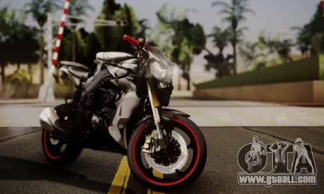 Kawasaki Z1000 2014 - The Predator for GTA San Andreas