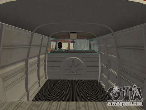 Volkswagen Type 2 T1 Van 1967 for GTA Vice City back left view