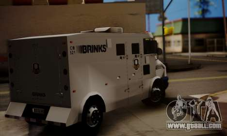 Iveco Daily Brinks for GTA San Andreas left view