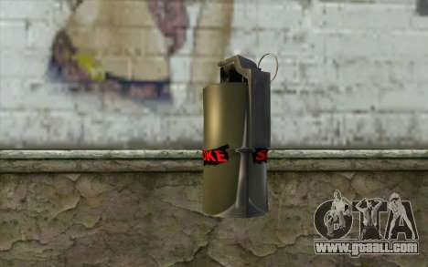 Smoke Grenade for GTA San Andreas second screenshot