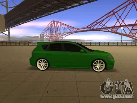 Mazda 3 for GTA San Andreas left view