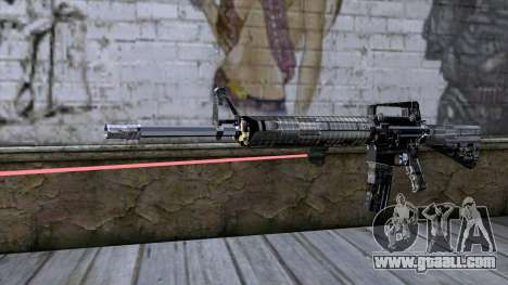 M4A1 with laser sight for GTA San Andreas