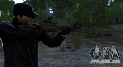 Mosin-Nagant for GTA 4 second screenshot