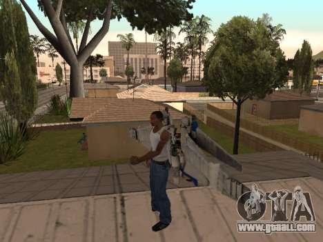 Optimus Jetpack for GTA San Andreas second screenshot