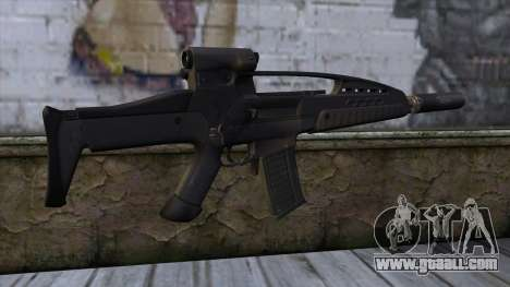 XM8 Assault Black for GTA San Andreas second screenshot
