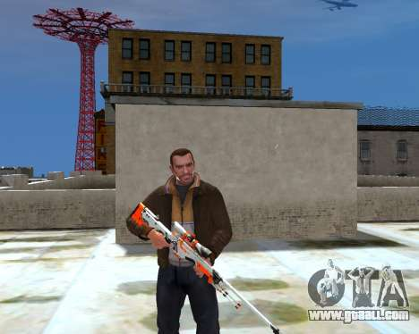 AWP for GTA 4 second screenshot