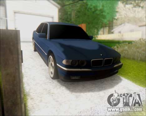 BMW 7 E38 for GTA San Andreas