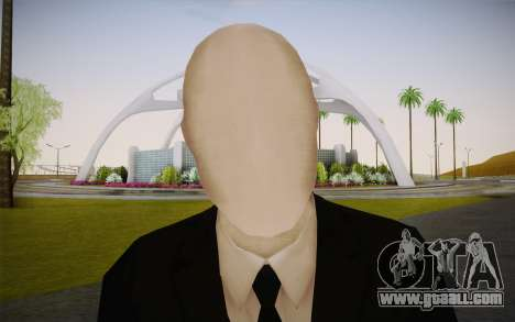 Slenderman for GTA San Andreas third screenshot
