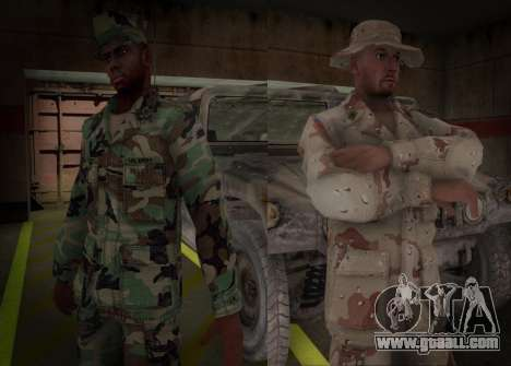 90s California National Guard for GTA San Andreas second screenshot