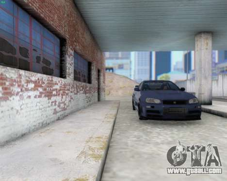 Nissan Skyline R34 Fast and Furious 4 for GTA San Andreas inner view