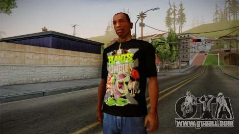 Plants versus Zombies T-Shirt for GTA San Andreas