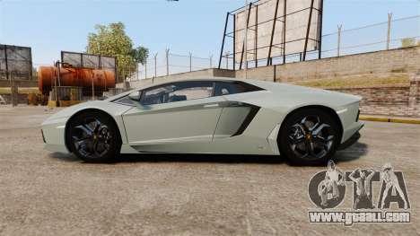 Lamborghini Aventador LP700-4 v2 [RIV] for GTA 4 left view