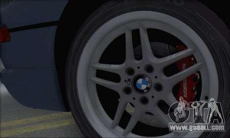 BMW E31 850CSi 1996 for GTA San Andreas back view