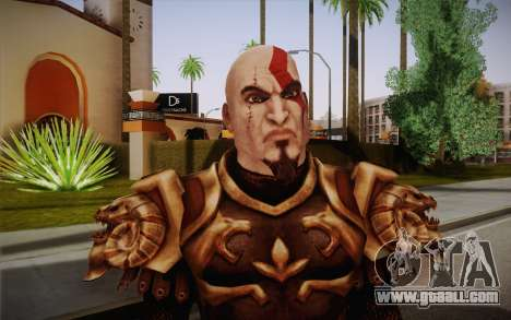 Kratos God Armor for GTA San Andreas third screenshot