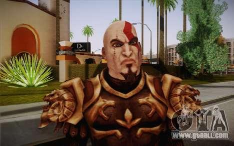 Kratos God Armor for GTA San Andreas third screenshot