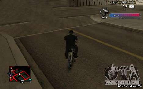 C-HUD by Nas for GTA San Andreas third screenshot
