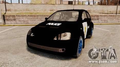 Opel Corsa Police for GTA 4