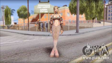Mermaid Gold Fish Tail for GTA San Andreas