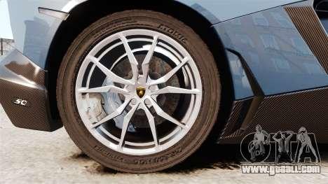 Lamborghini Aventador LP720-4 50th Anniversario for GTA 4 back view