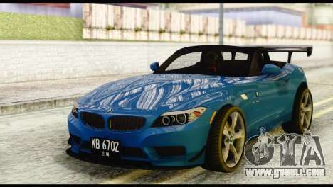 BMW Z4 sDrive28i 2012 for GTA San Andreas