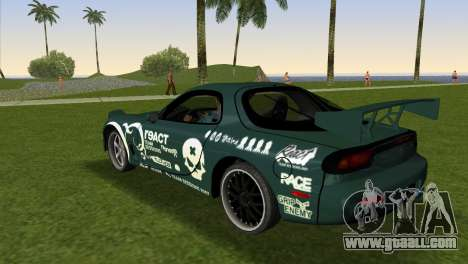 Mazda RX-7 Tuning for GTA Vice City left view
