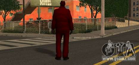 Santa Claus for GTA San Andreas second screenshot