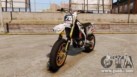 Yamaha YZF-450 v1.20 for GTA 4